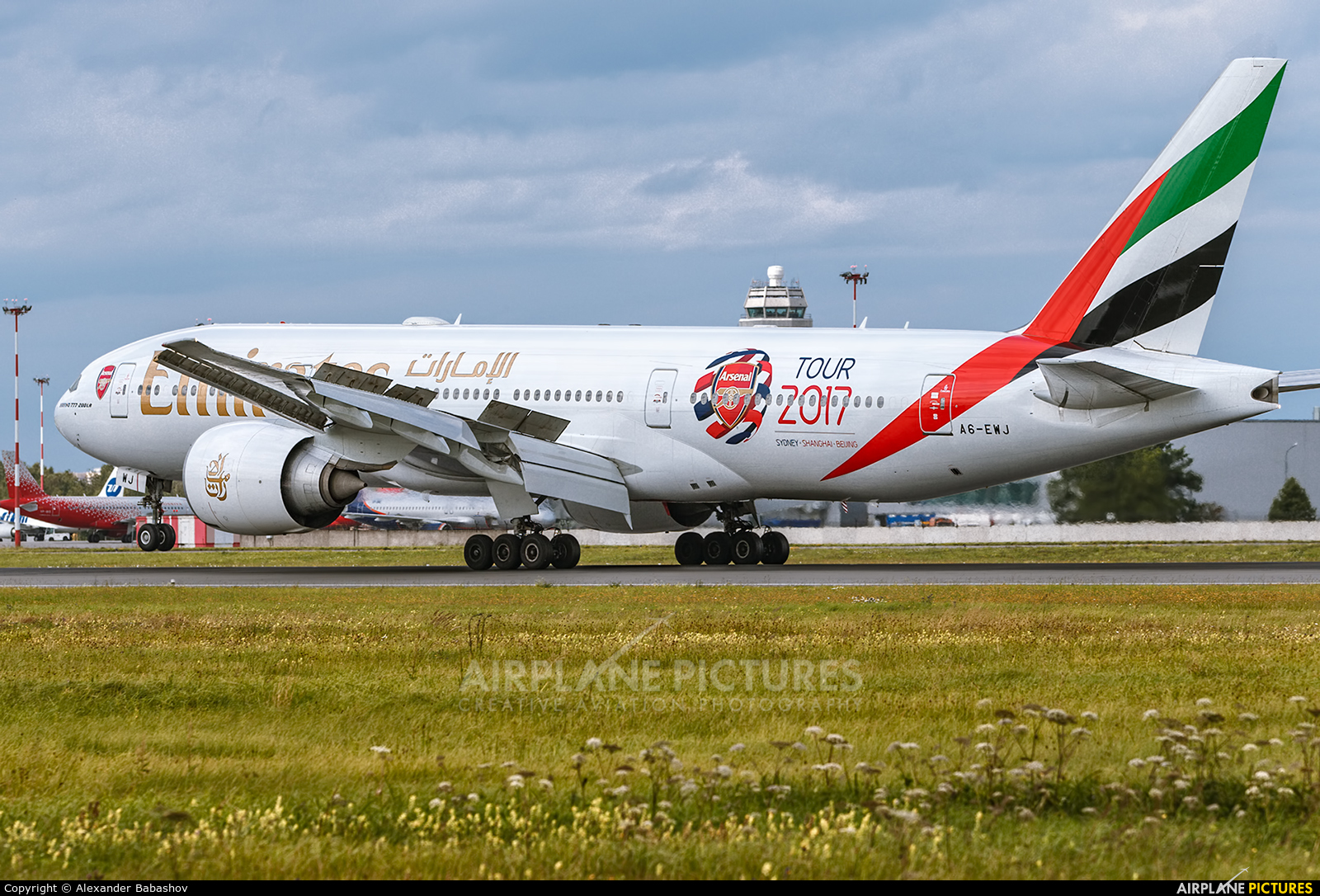 Emirates Airlines A6-EWJ aircraft at St. Petersburg - Pulkovo