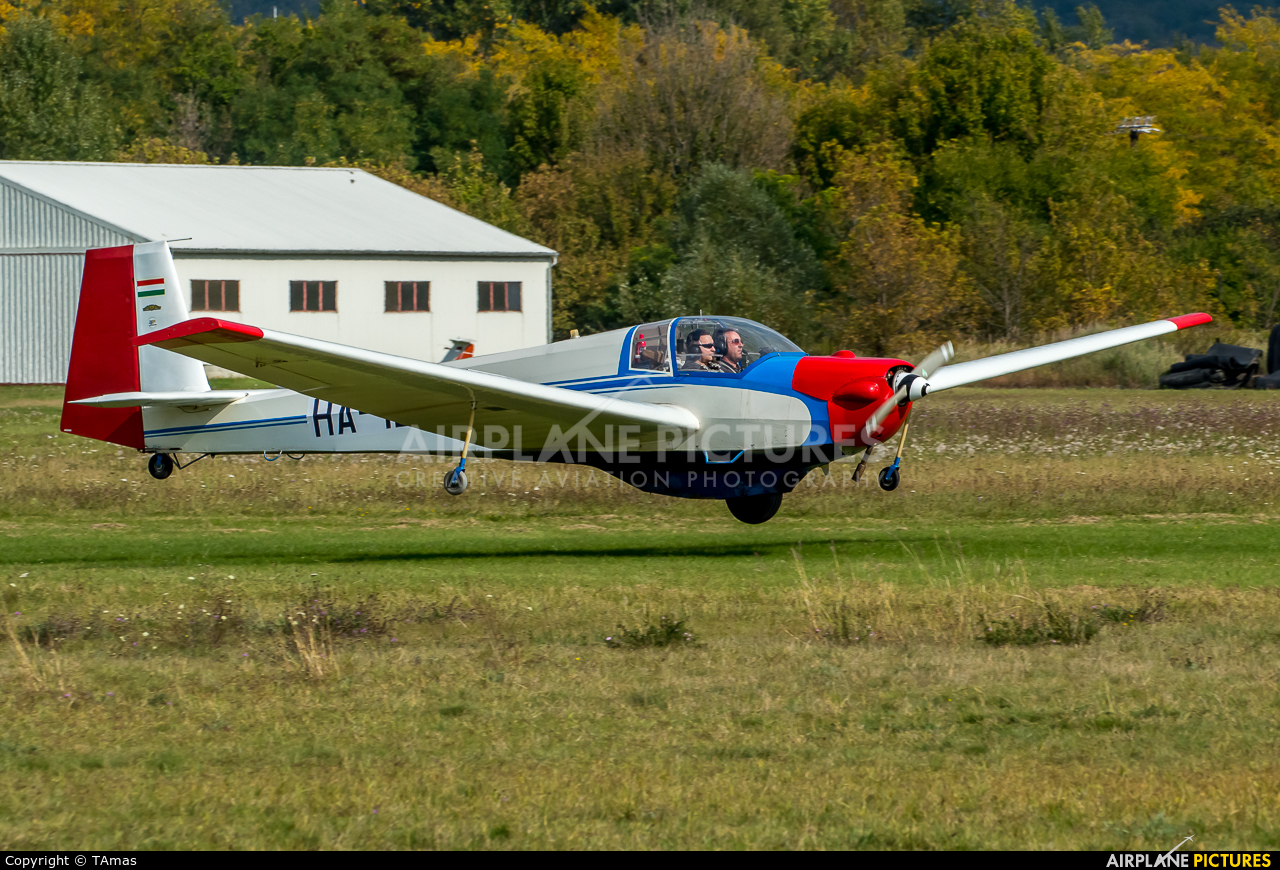 Private HA-1261 aircraft at Off Airport - Hungary