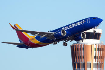 N8709Q - Southwest Airlines Boeing 737-8 MAX