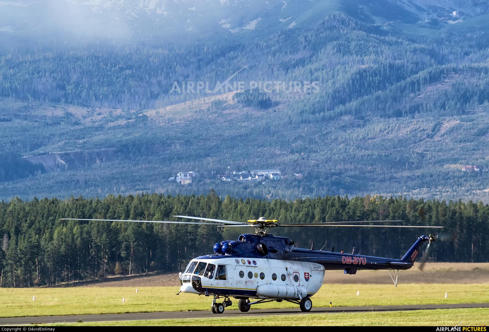 Slovakia - Government OM-BYU aircraft at Poprad - Tatry
