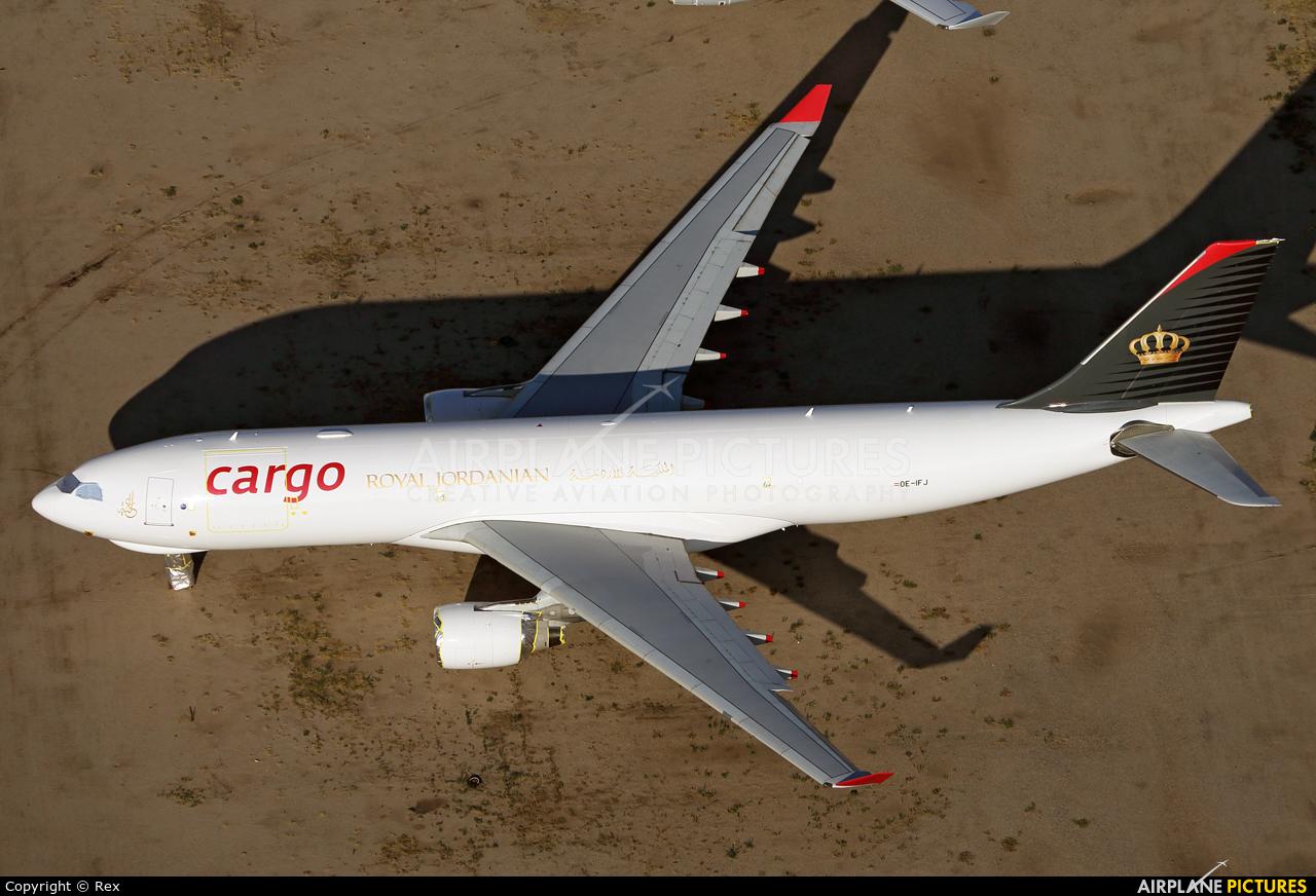 Royal Jordanian Cargo OE-IFJ aircraft at Marana/Pinal Air Park