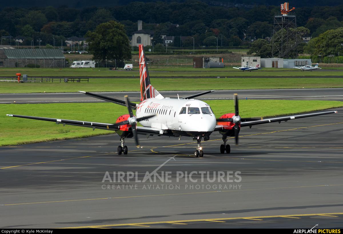 Loganair G-LGNG aircraft at Glasgow