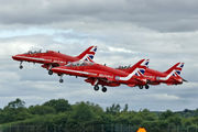 "XX204 - Royal Air Force ""Red Arrows"" British Aerospace Hawk T.1/ 1A aircraft"