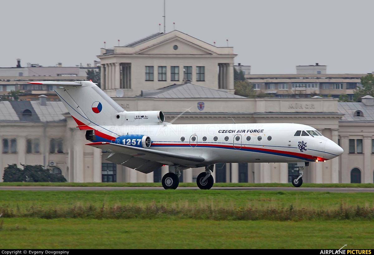 Czech - Air Force 1257 aircraft at Minsk-1