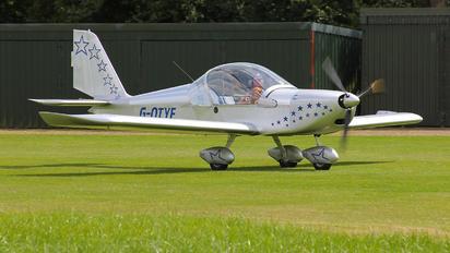 G-OTYE - Private Evektor-Aerotechnik EV-97 Eurostar