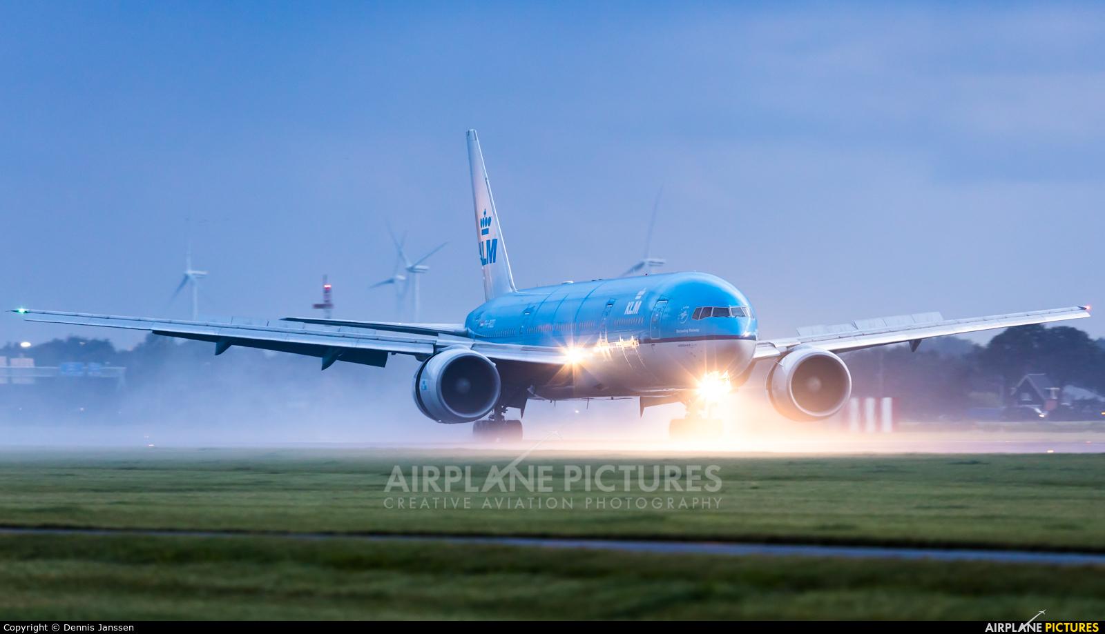 KLM PH-BQD aircraft at Amsterdam - Schiphol