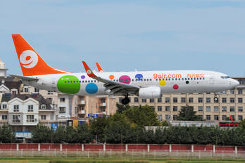 B-1715 - 9 Air Boeing 737-800