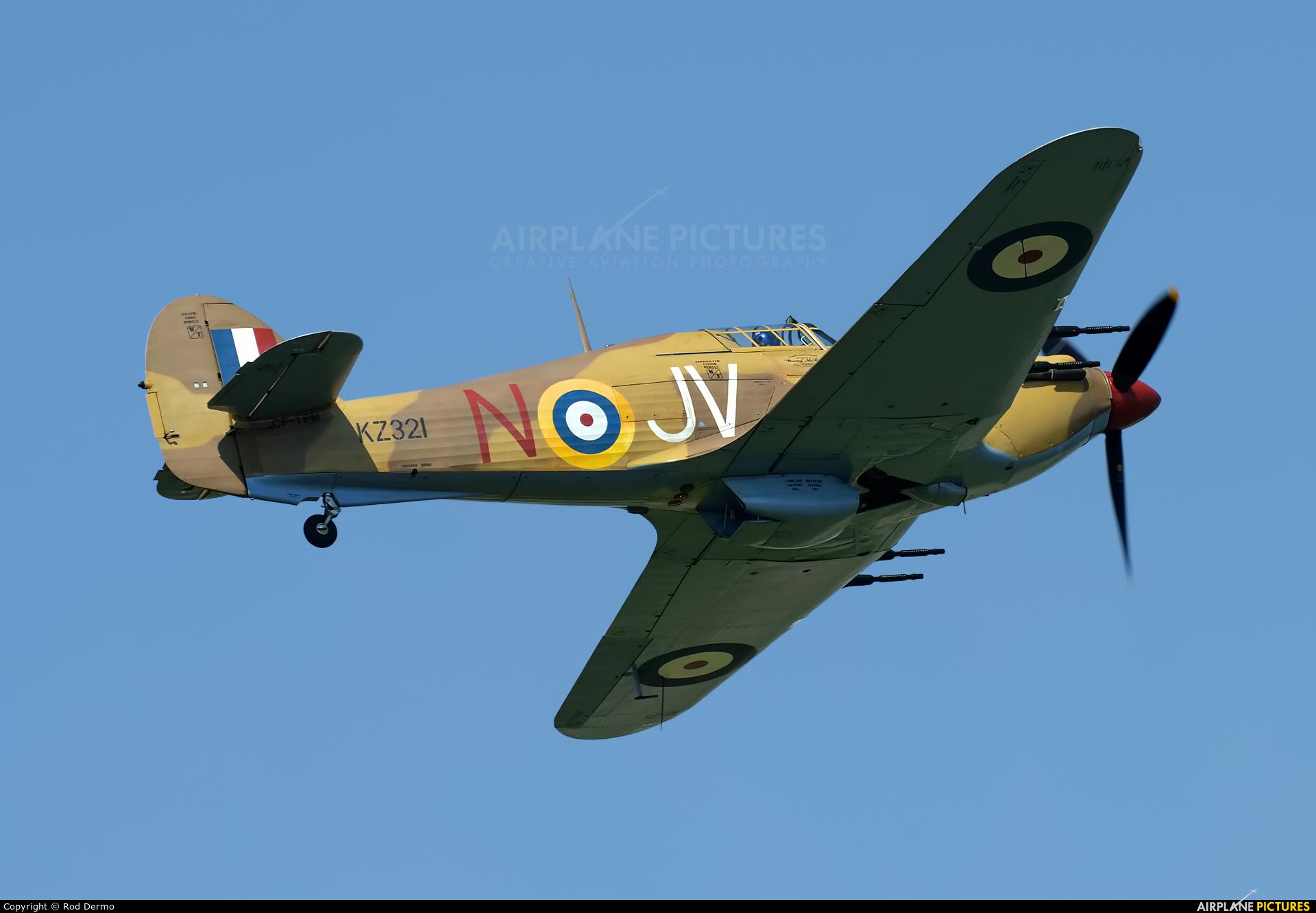 Vintage Wings of Canada CF-TPM aircraft at Selfridge ANGB