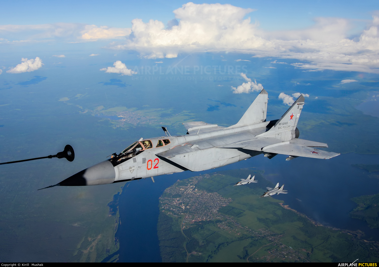 Russia - Air Force RF-92453 aircraft at In Flight - Russia