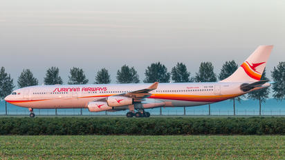 PZ-TCR - Surinam Airways Airbus A340-300