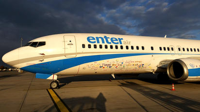 SP-ENI - Enter Air Boeing 737-400