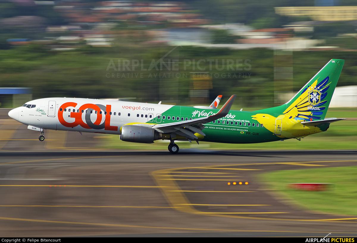 GOL Transportes Aéreos  PR-GUK aircraft at Porto Alegre - Salgado Filho
