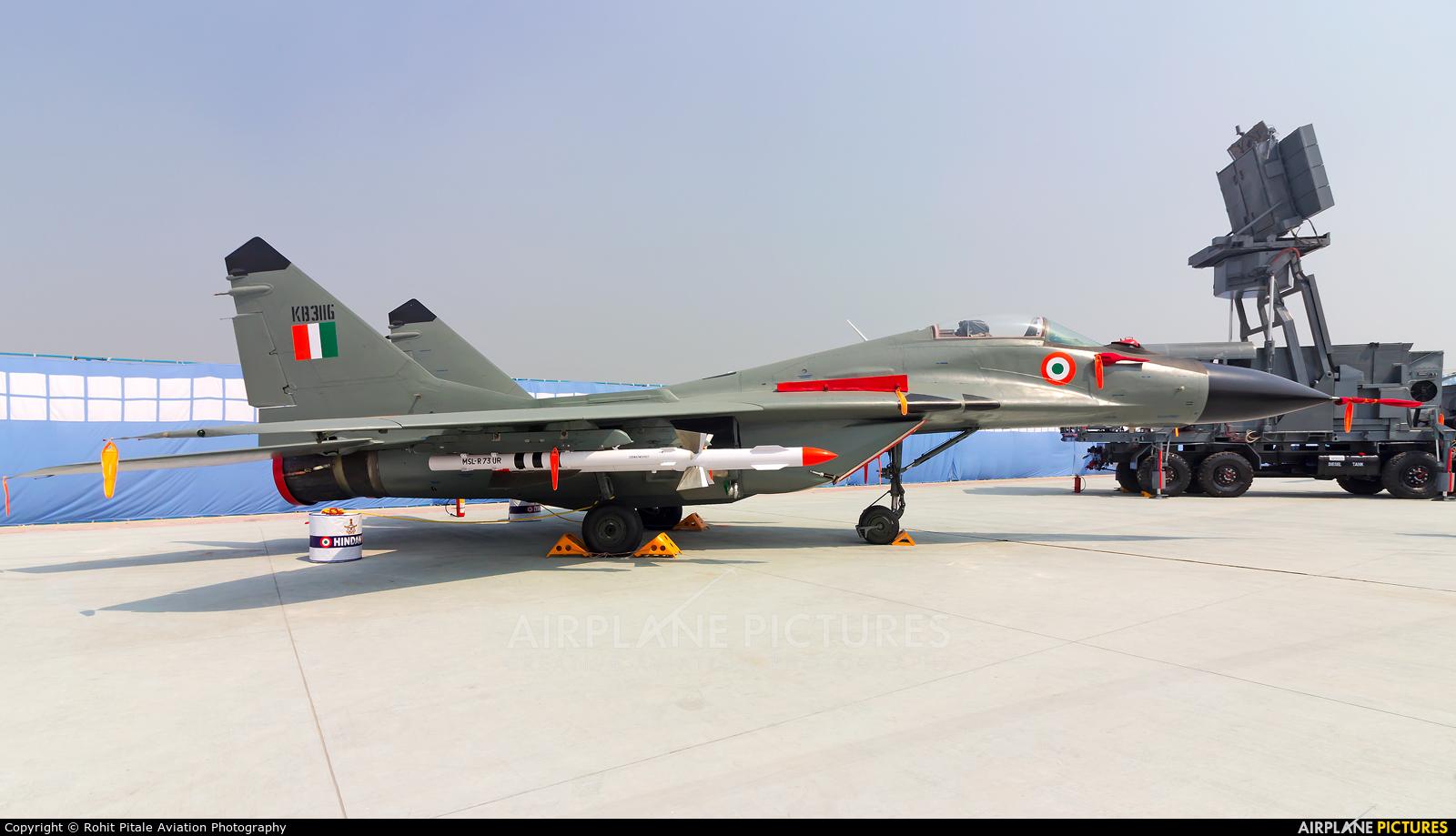India - Air Force KB3116 aircraft at Hindon AFB