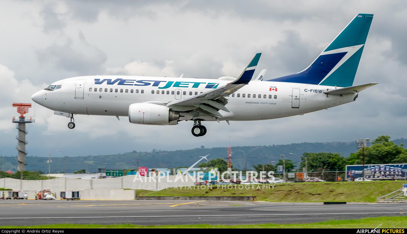 WestJet Airlines C-FIBW aircraft at San Jose - Juan Santamaría Intl