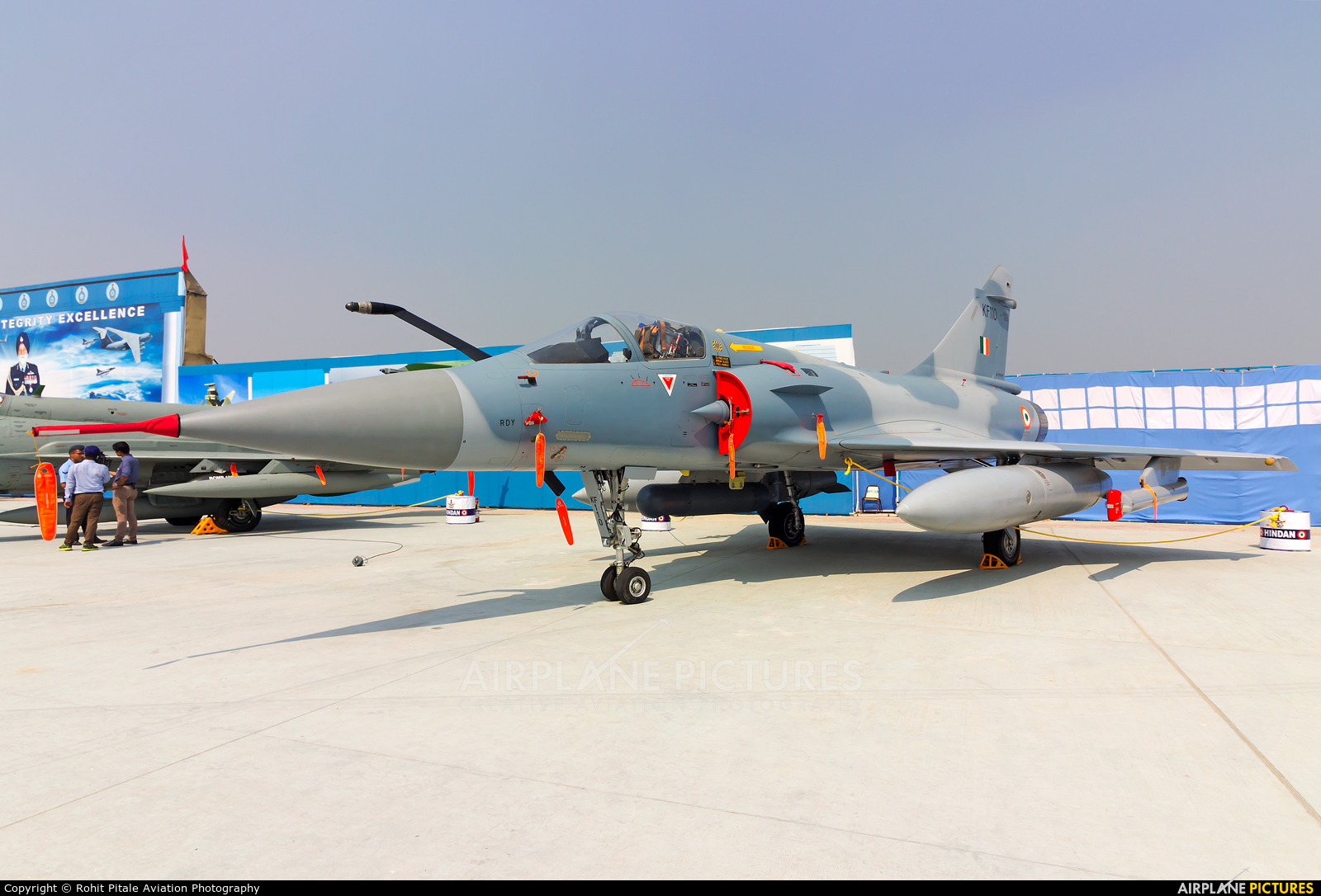 India - Air Force KF110 aircraft at Hindon AFB