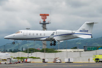 N603GR - Private Bombardier Learjet 60