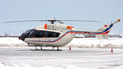 TC-HLB - Turkey - Government Eurocopter BK117