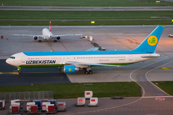 UK67005 - Uzbekistan Airways Boeing 767-300ER