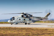Rare visit of Royal Navy AW101 Merlin HM.1 title=