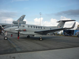 FAC-5077 - Colombia - Air Force Beechcraft 300 King Air 350