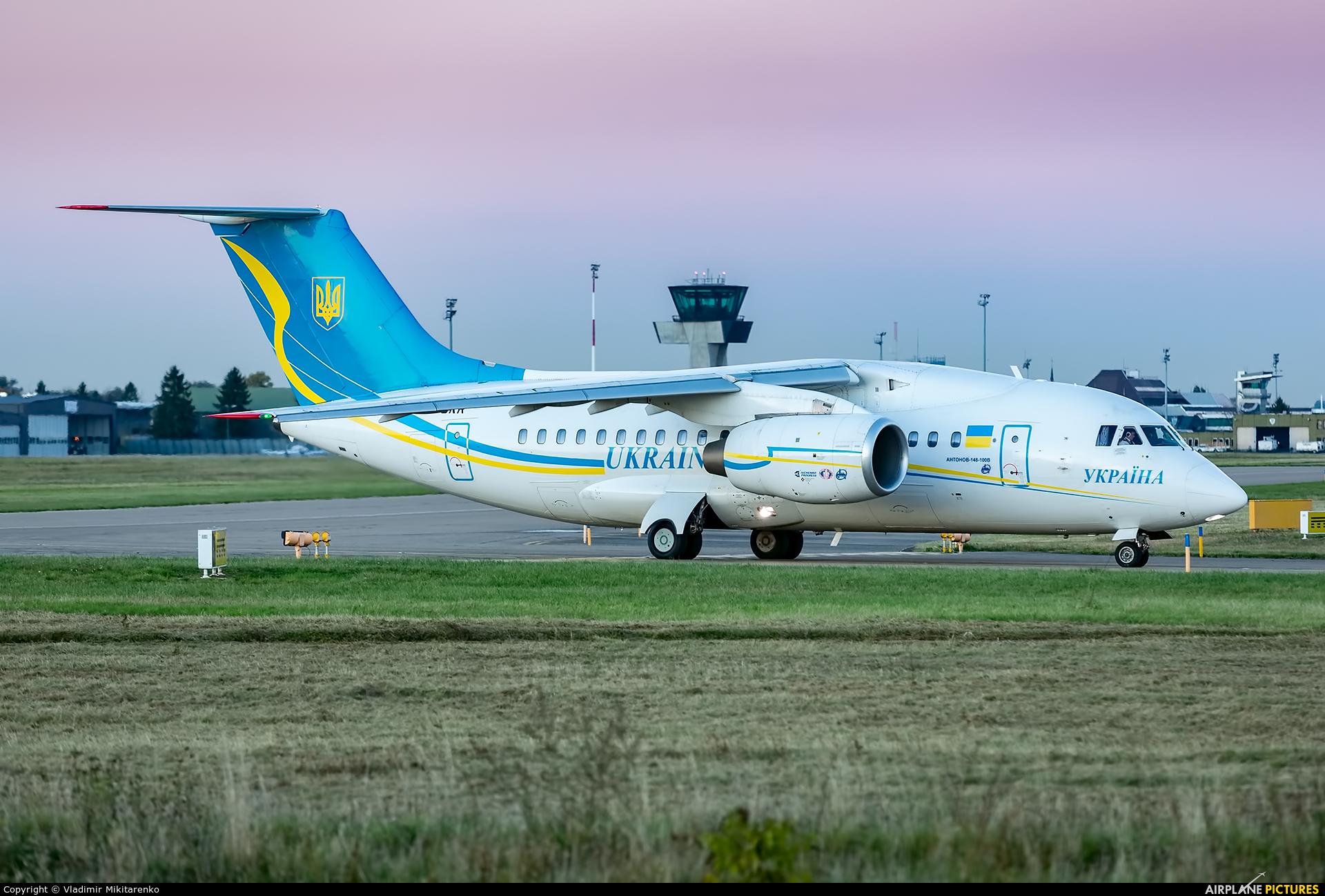 Ukraine - Government UR-UKR aircraft at Strasbourg-Entzheim