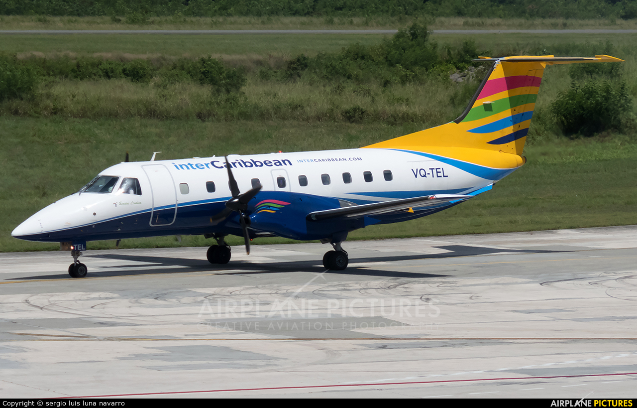 Intercaribbean Airways VQ-TEL aircraft at Santo Domingo - Aeropuerto de las Americas
