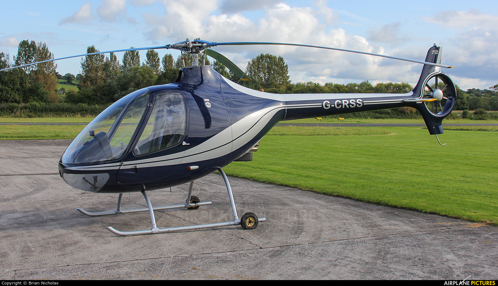 Private G-CRSSS aircraft at Welshpool