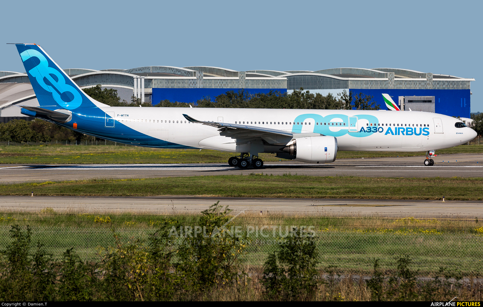 Airbus Industrie F-WTTN aircraft at Toulouse - Blagnac