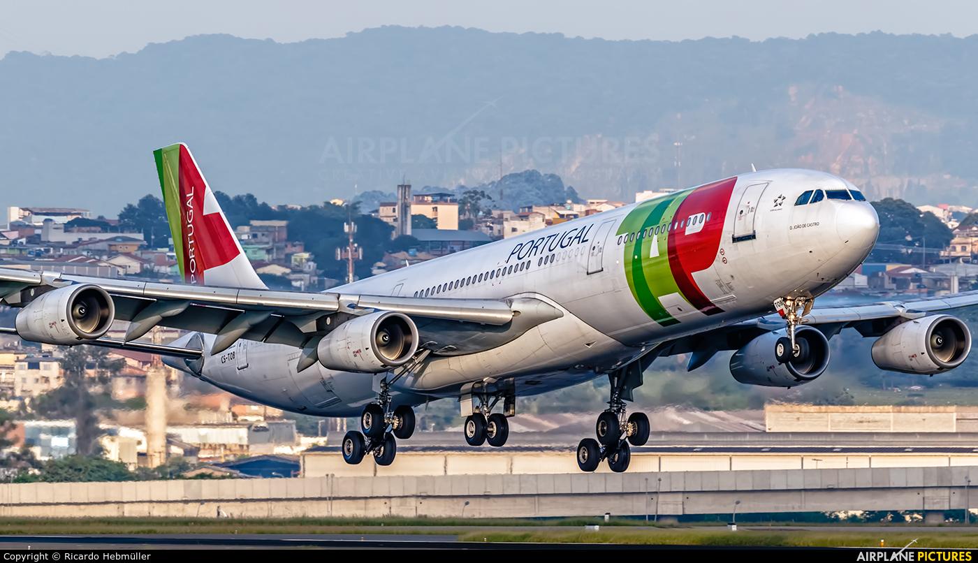 TAP Portugal CS-TOB aircraft at São Paulo - Guarulhos