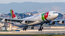 CS-TOB - TAP Portugal Airbus A340-300 aircraft
