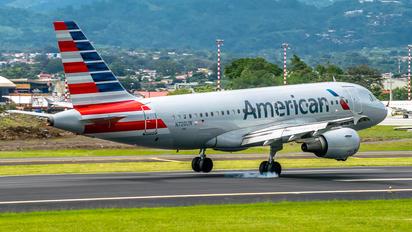 N709UW - American Airlines Airbus A319