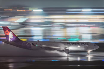 N381HA - Hawaiian Airlines Airbus A330-200