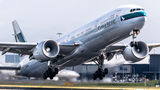 Cathay Pacific Boeing 777-300ER B-KPY at Amsterdam - Schiphol airport