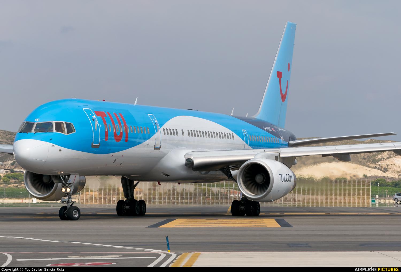 TUI Airways G-OOBE aircraft at Alicante - El Altet