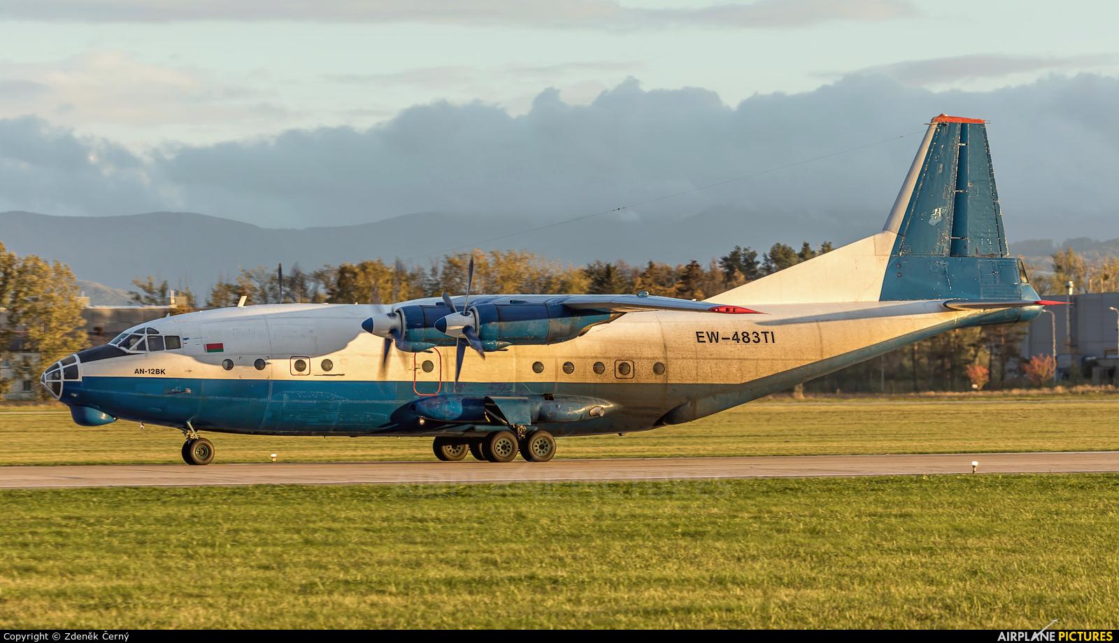 Ruby Star Air Enterprise EW-483TI aircraft at Ostrava Mošnov
