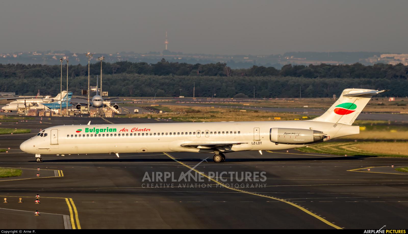 Bulgarian Air Charter LZ-LDT aircraft at Frankfurt