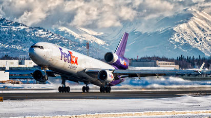 N521FE - FedEx Federal Express McDonnell Douglas MD-11F
