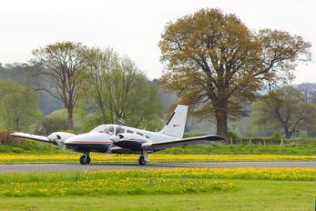 G-GFEY - Mann Air Piper PA-34 Seneca