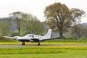 G-GFEY - Mann Air Piper PA-34 Seneca aircraft