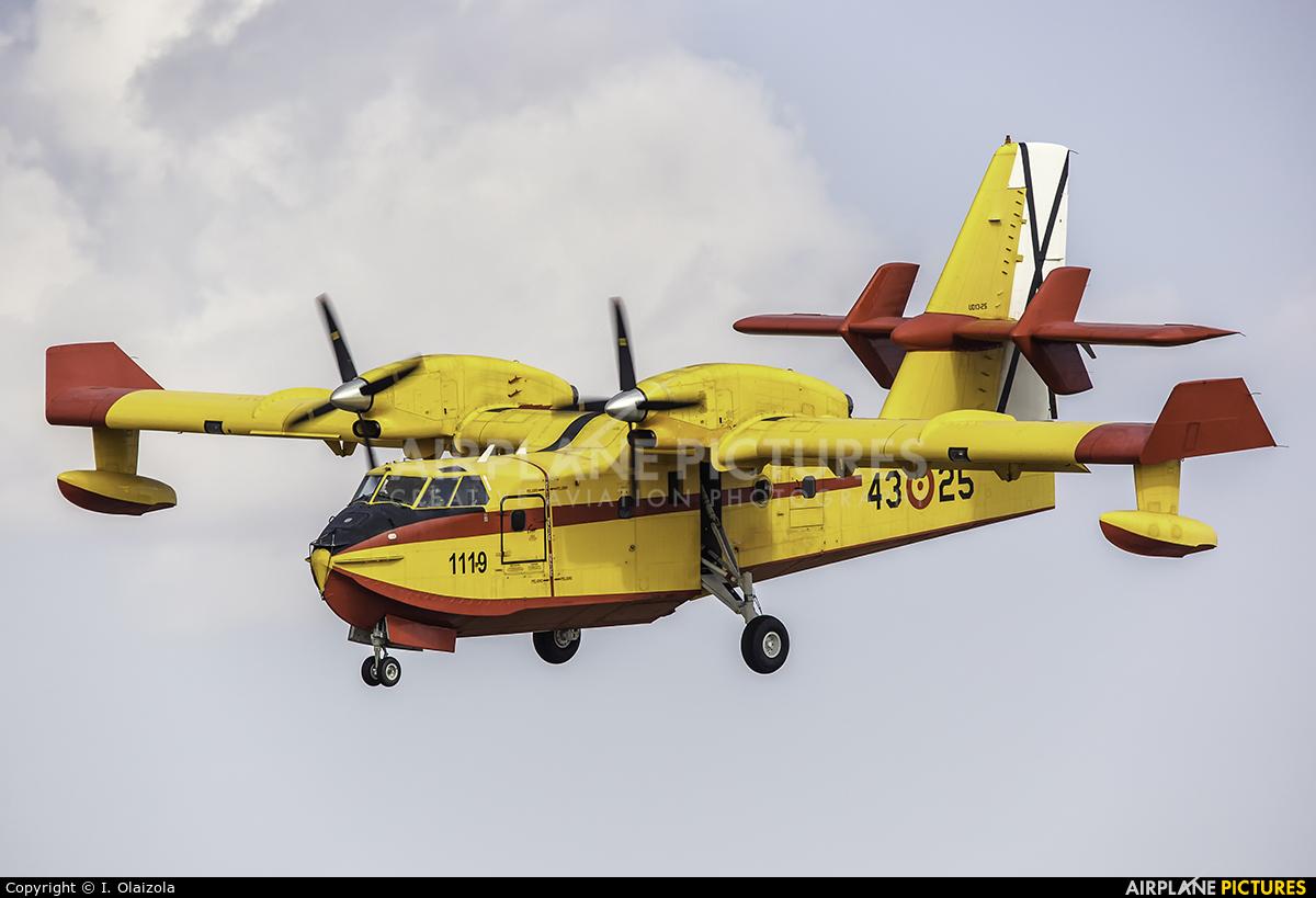 Spain - Air Force UD.13-25 aircraft at Madrid - Torrejon