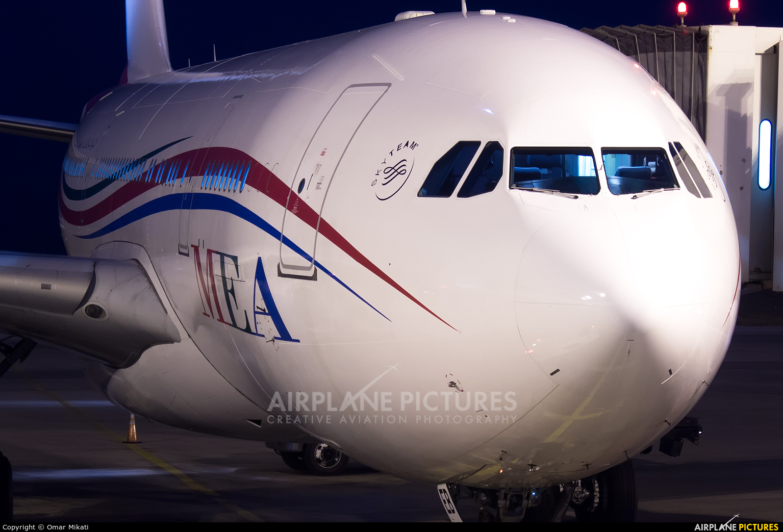 MEA - Middle East Airlines OD-MEB aircraft at Beirut - Rafic Hariri Intl