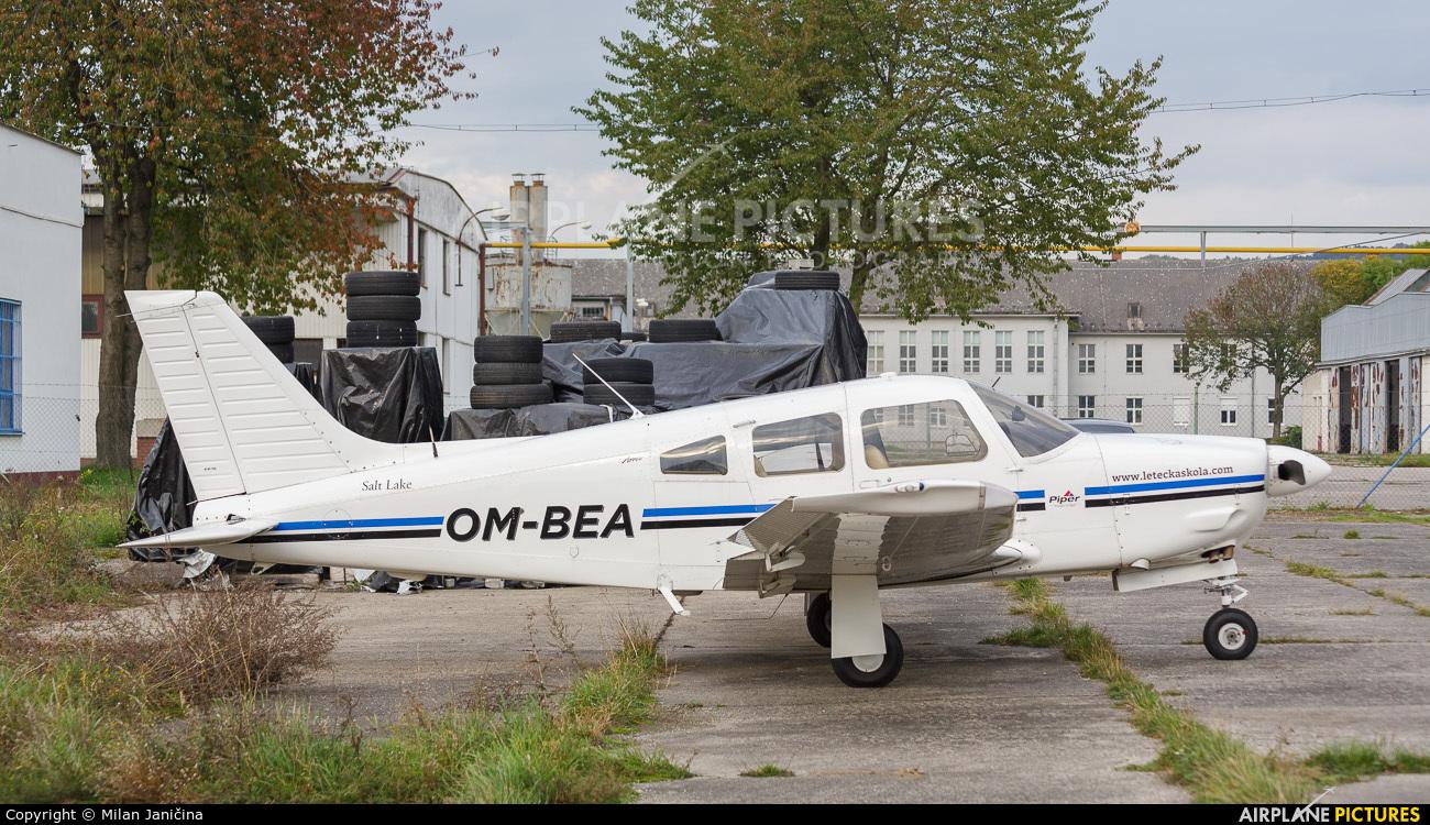 Seagle Air OM-BEA aircraft at Trenčín