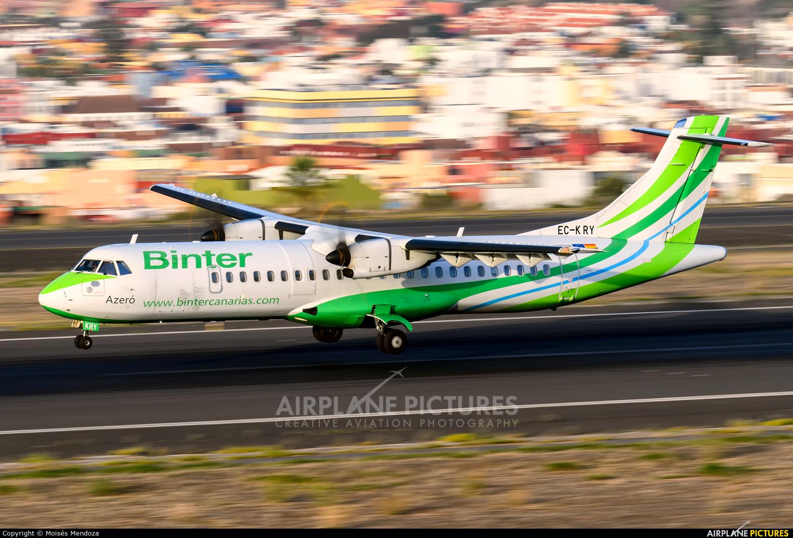 Binter Canarias EC-KRY aircraft at Tenerife Norte - Los Rodeos