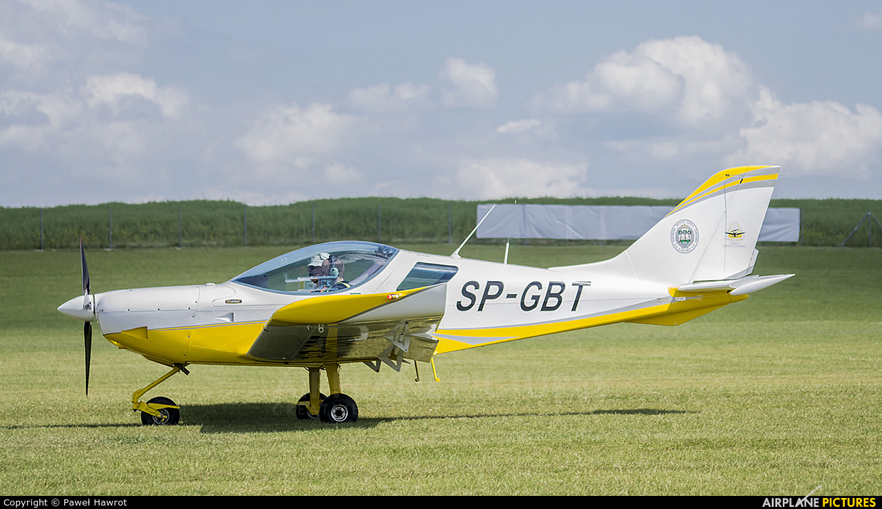 Private SP-GBT aircraft at Depułtycze Królewskie