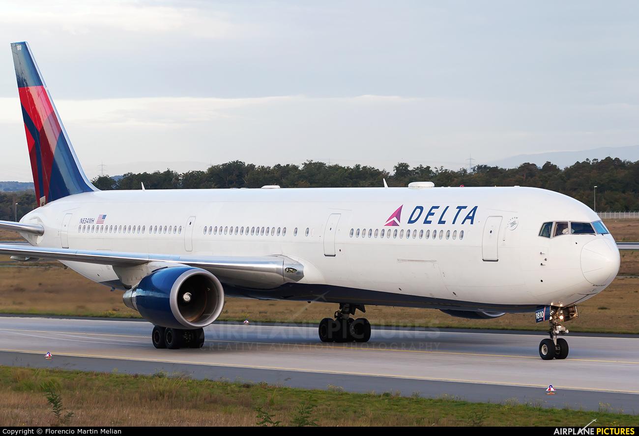 Delta Air Lines N834MH aircraft at Frankfurt