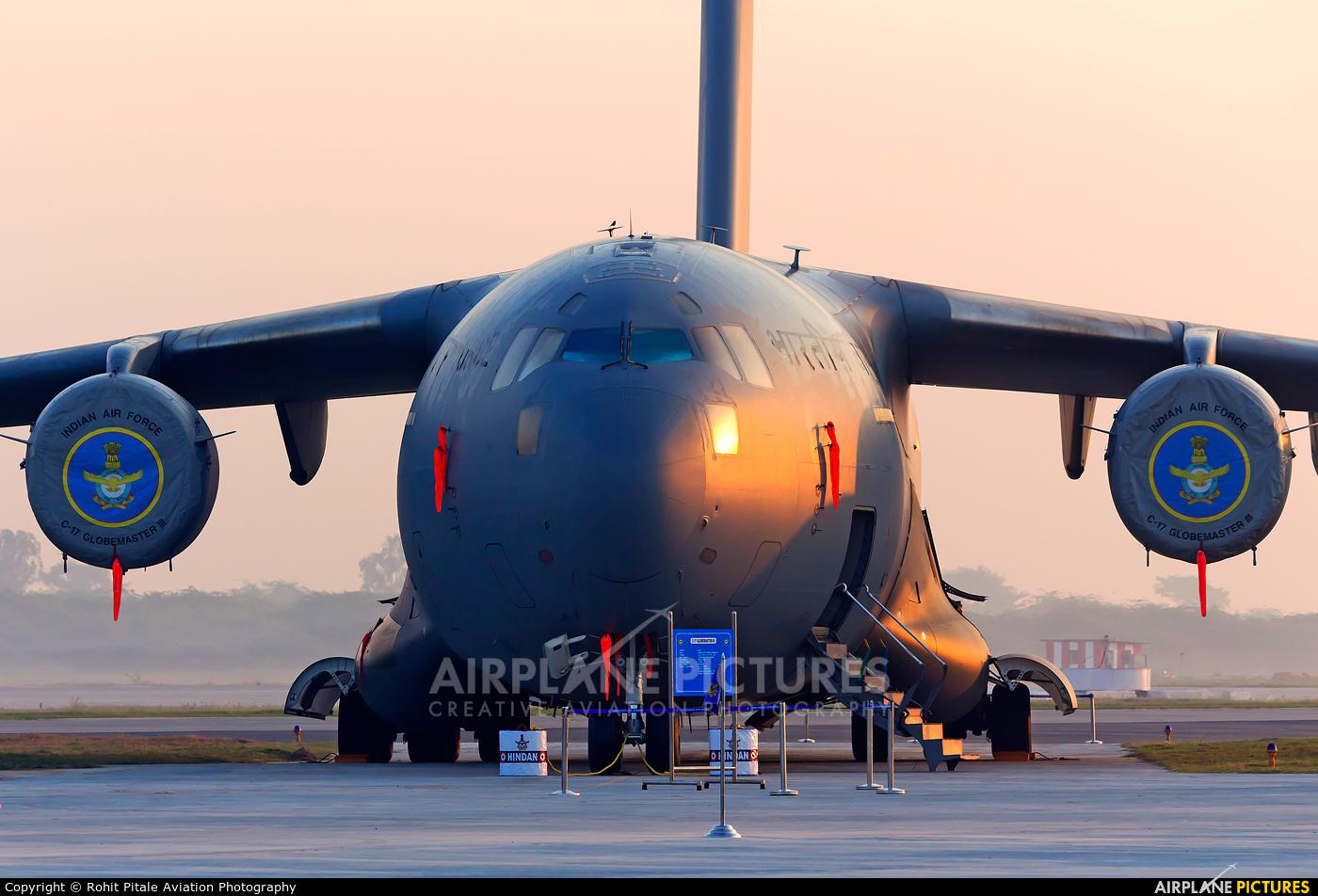 India - Air Force CB-8004 aircraft at Hindon AFB