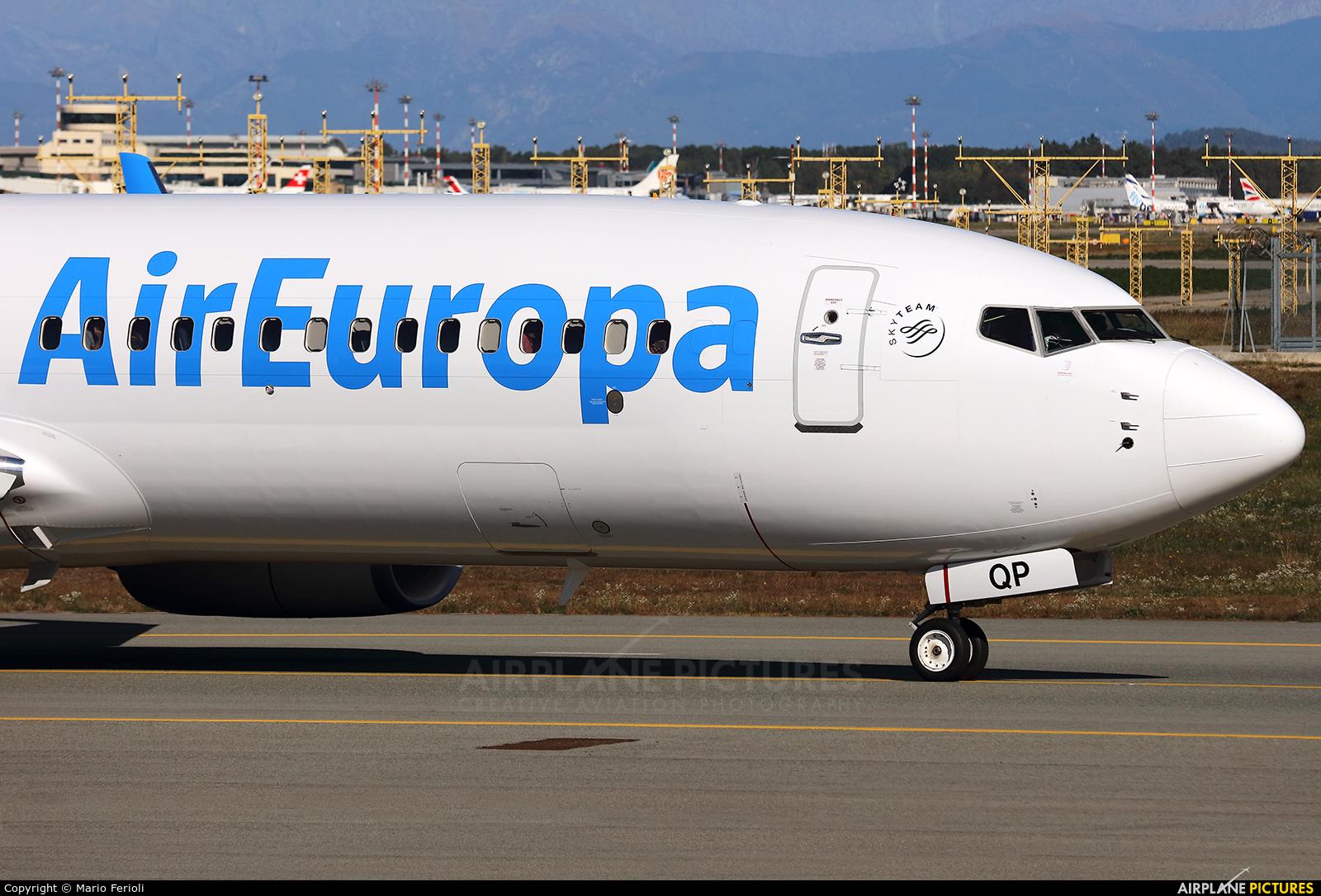 Air Europa EC-MQP aircraft at Milan - Malpensa