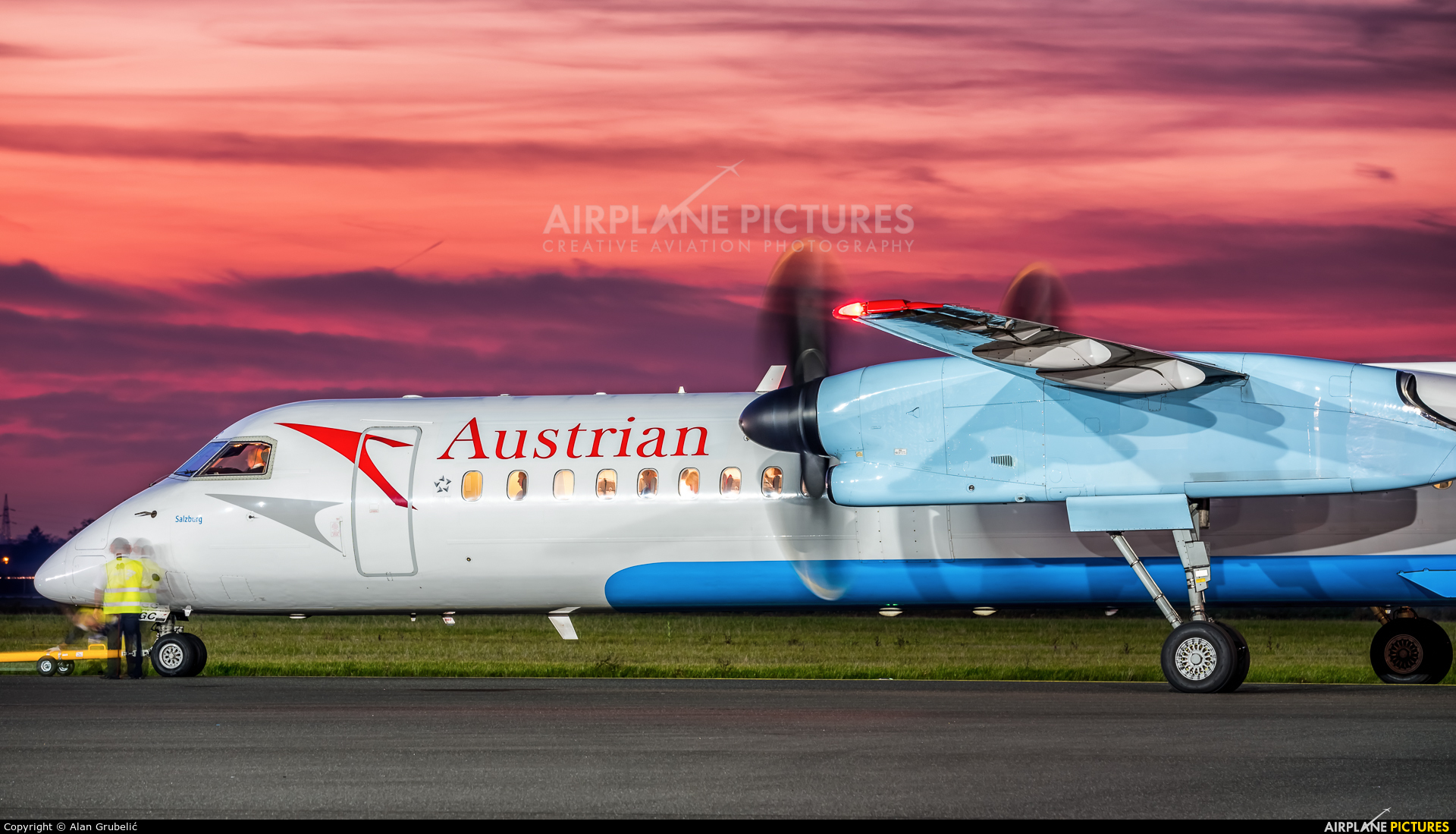 Austrian Airlines/Arrows/Tyrolean OE-LGC aircraft at Zagreb