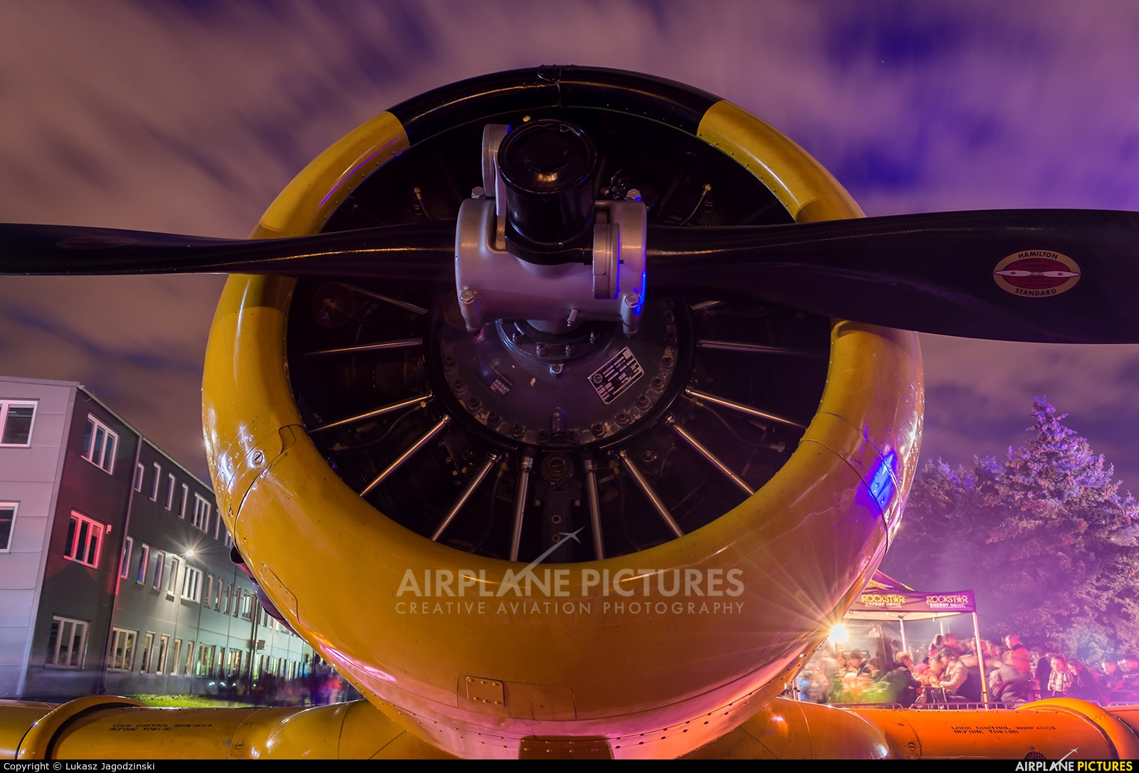 Private G-RAIX aircraft at Warsaw - Frederic Chopin