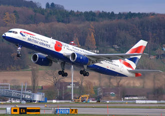 G-BPEK - British Airways Boeing 757-200